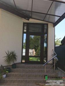 Ламинированная дверь в ст. Елизаветинской
