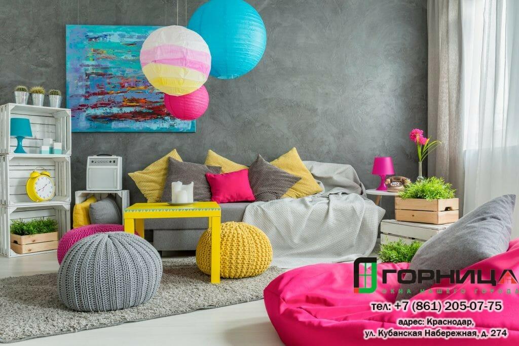 12+ творческих идей для гостиной
