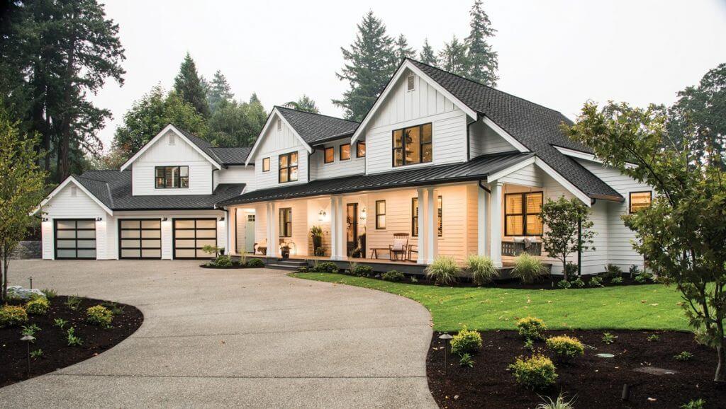 Как добиться современного стиля для сельского дома