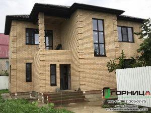 Частный дом в Горячем Ключе профиль Elex 70, стеклопакет Solar_1