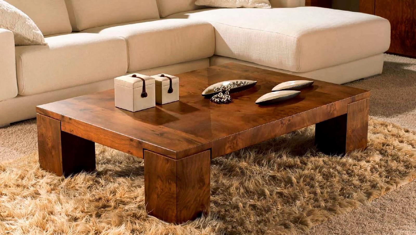 Основные виды кофейных столиков и их особенности