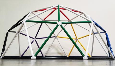 Зачем строить геодезический купол из ПВХ?