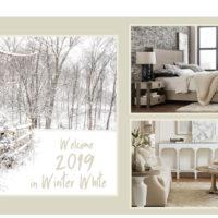 Зима в белых тонах