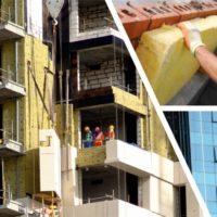Утепление фасада зданий