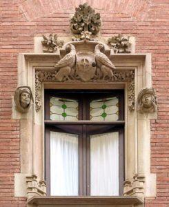 Лепной декор - украшение на фасаде