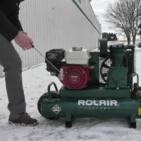 Поддержание работы вашего воздушного компрессора в холодную погоду