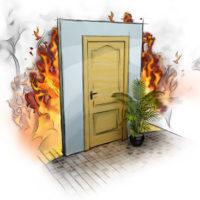 Противопожарные двери