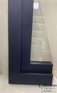 Сообщаем о появлении возможности заказывать окна из профиля Elex в цвете антрацит в массе