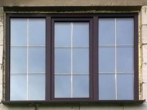Окна со шпросами. Завод Горница