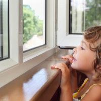 Безопасность окон для детей