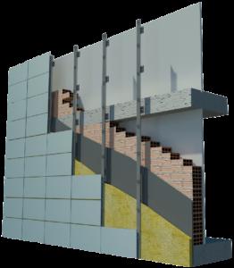 Для чего нужны вентилируемые фасады (из керамогранита и других материалов)?