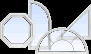Параметры конфигурации окон нестандартной формы