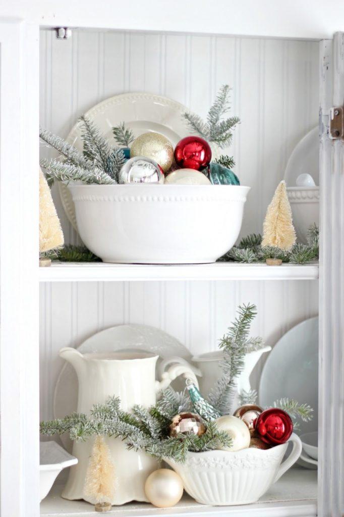 Рождественские украшения для хижины