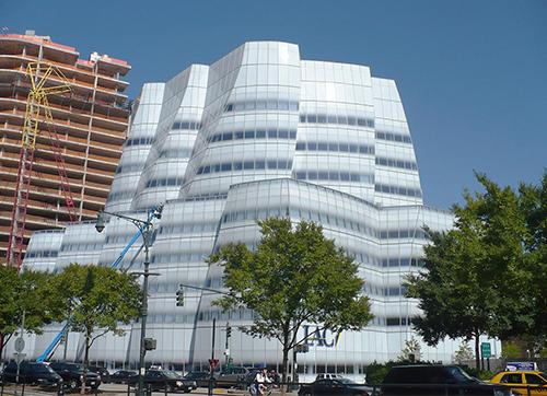 Штаб-квартира МАК в Нью-Йорке - холодногнутое стекло с двойной кривизной