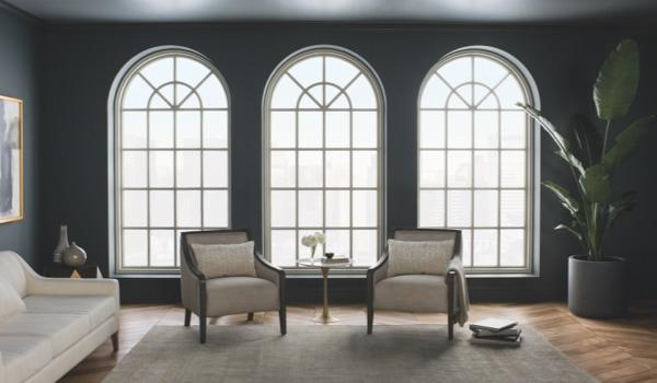 Завершите дизайн вашего дома арочными окнами